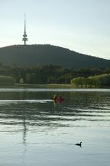 boating near Telstra tower