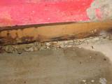 water damaged basement poster