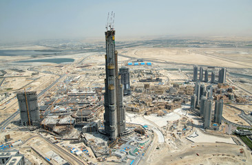 Burj Dubai Development, Tallest Sky Scraper In The World