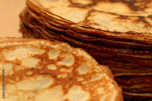 piles of pancakes