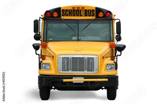 Front view of school bus - 4159923