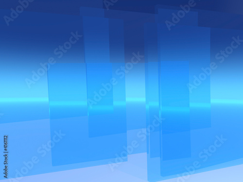 Glass Curtains Background
