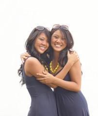 Embracing twins