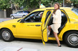 Pretty Woman in Taxi