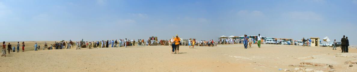 Giza market panorama