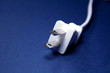 Electric Plug on Blue