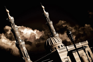 Rainclouds & A Mosque