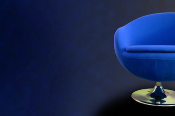 Blue Retro Chair