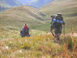 The Drakensberg - Hikers