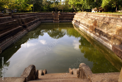 Pool and water in Anuradhapura