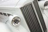 White Car Radiator poster