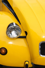 Yellow Car Front Light