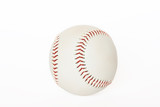 Base ball isolated on white background poster