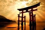 Fototapety The great gateway at Miyajima