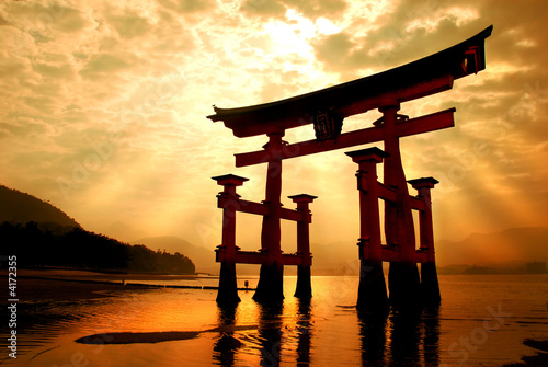 The great gateway at Miyajima - 4172355