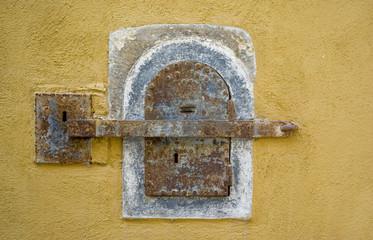Vecchi serratura