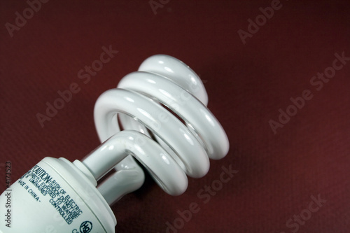 Light Bulb on Red