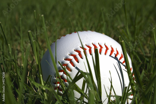 Baseball and Grass