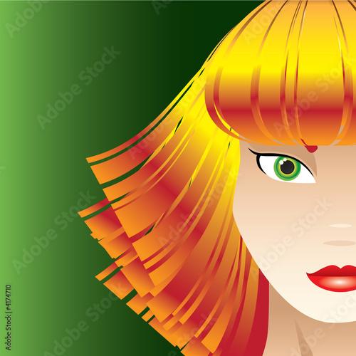 Sassy Strawberry Blond