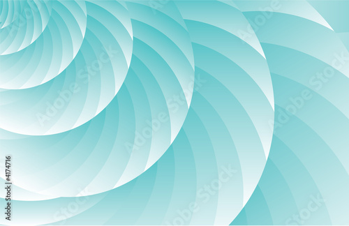Abstract swirling blue background