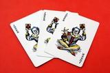 Playing cards. Joker.  poster