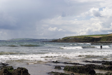 Irish coastline, beach, Inch Head, Co Cork