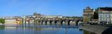 Fototapety Prague castle and Charles bridge