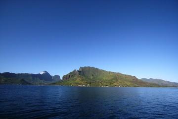 Bahia Cook en Moorea, Oceania
