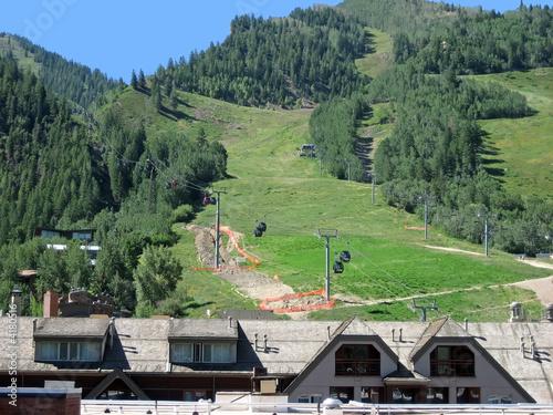 Mountain Condos and Gondola