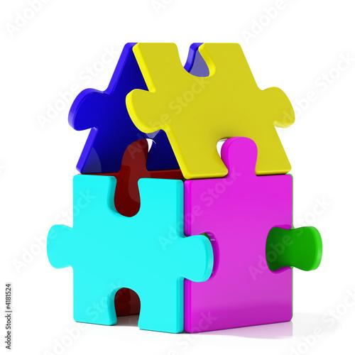 Color Puzzle Home
