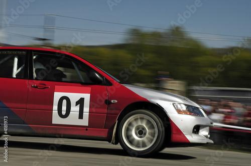 Foto op Canvas Snelle auto s rally speed