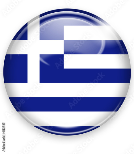 griechenland button flagge