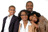 Family in Formal Attire poster