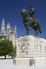 Monastery of Batalha and Statue