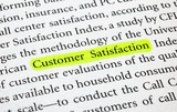 Customer Satisfaction poster