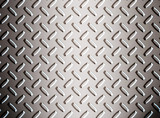 alloy diamond plate metal poster