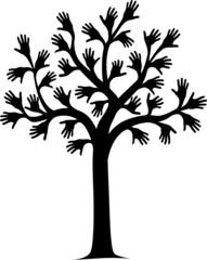 Hand tree