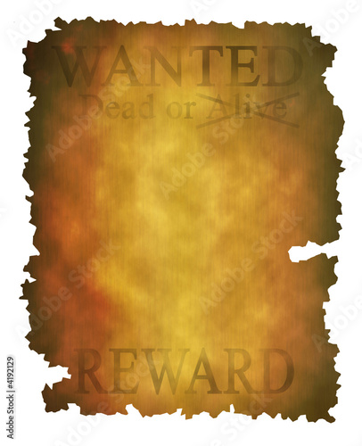 poster of Old wanted poster