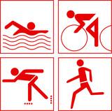 Fototapety Piktogramme Sport