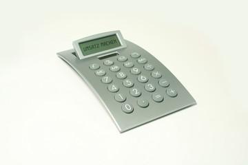 Taschenrechner, Umsatz