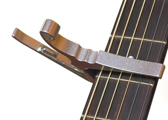 Guitar with Capo