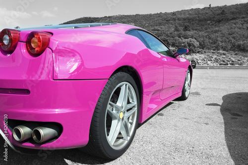 Foto op Canvas Snelle auto s voiture de course