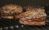 Succulent Wrapped Flank Steak BBQ poster