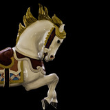 white painted pony poster