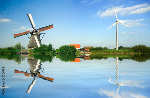 old and new wind energy
