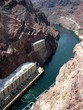 Colorado River - Hoover Dam view vertical