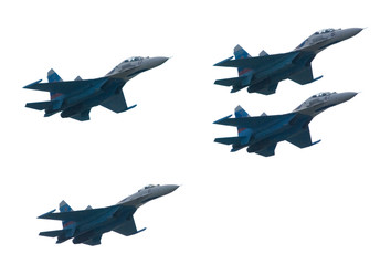 Group of Fighter Aircrafts