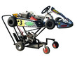 Go Kart on Service Trolley with clipping path