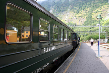 Flambahn in Norwegen
