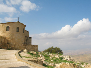 Church on mountain Nebo, Jordan